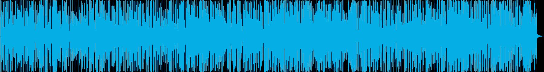 軽やかなジャズの再生済みの波形