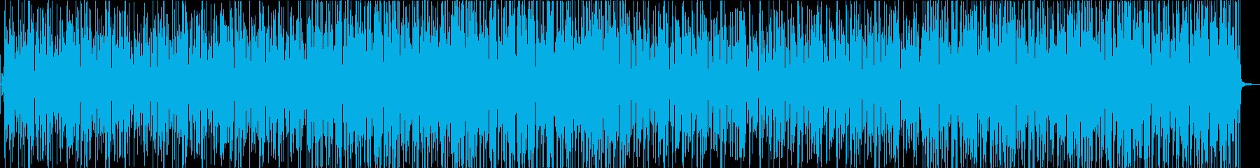 可愛いオシャレなポップスの再生済みの波形
