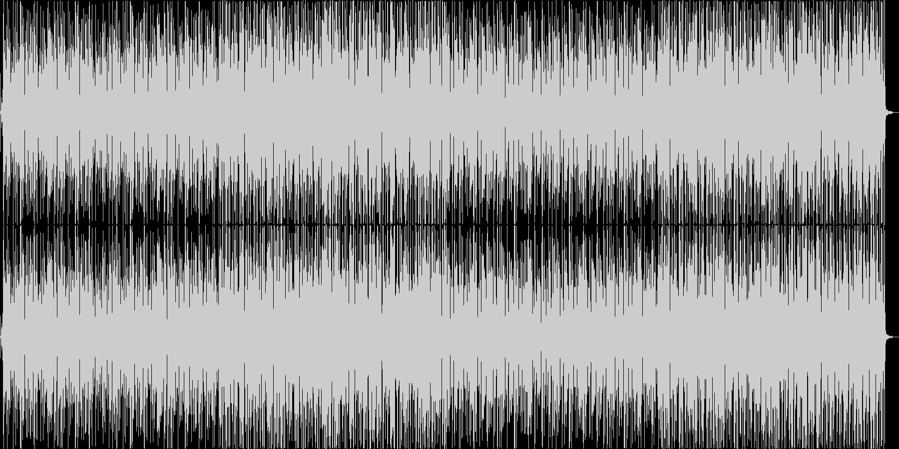 可愛いオシャレなポップスの未再生の波形