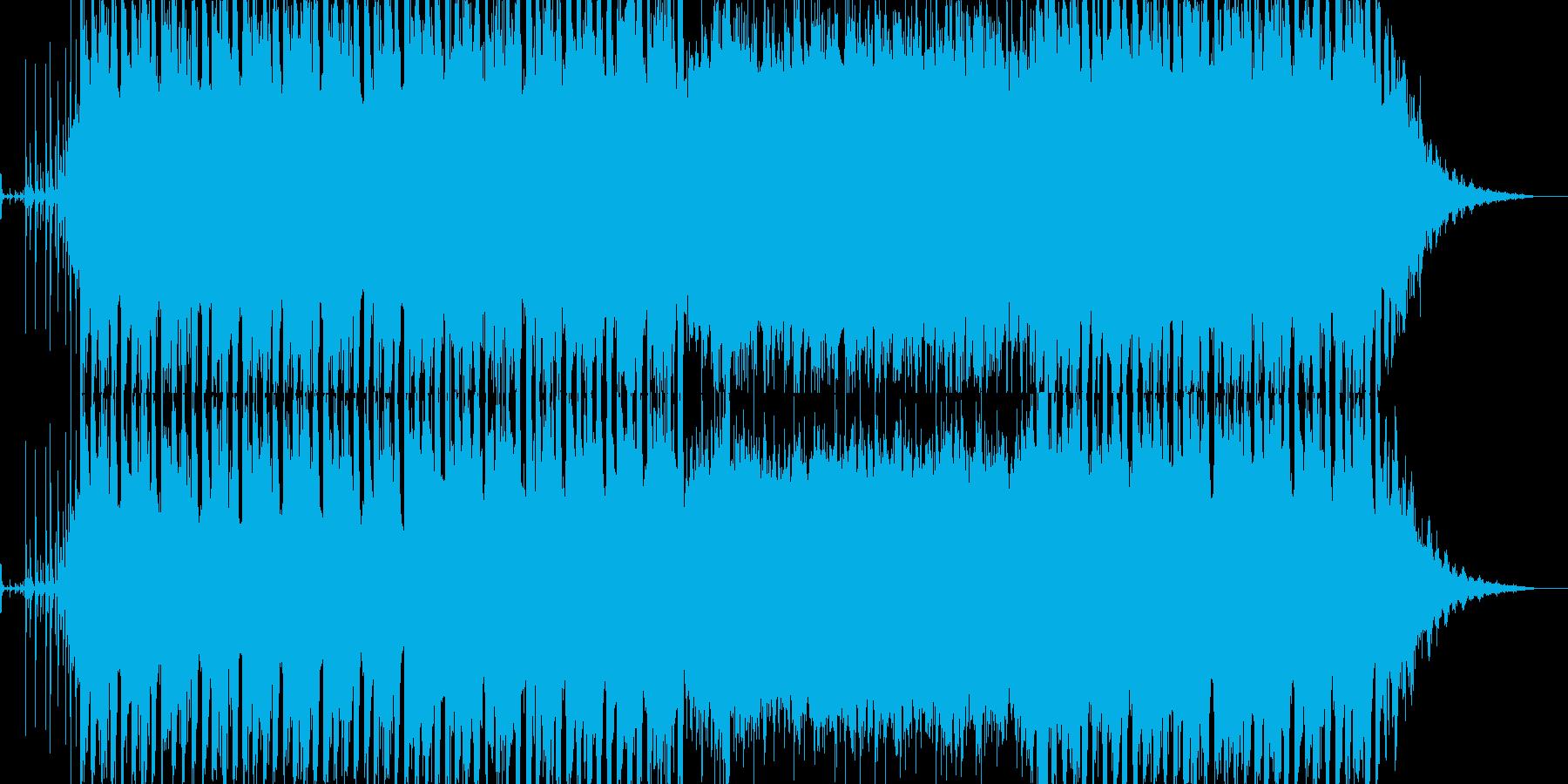 疾走感のあるEDM/テクノ_BGM004の再生済みの波形