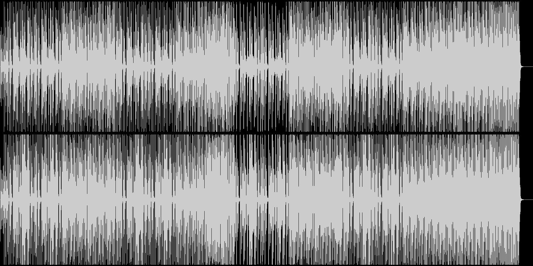 レゲエ調でクラシカルなおどけたほのぼの系の未再生の波形