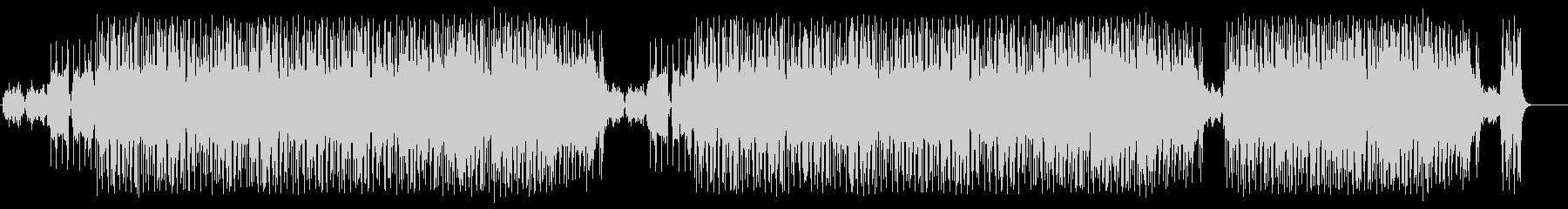 淡々としたポップ(フルサイズ)の未再生の波形