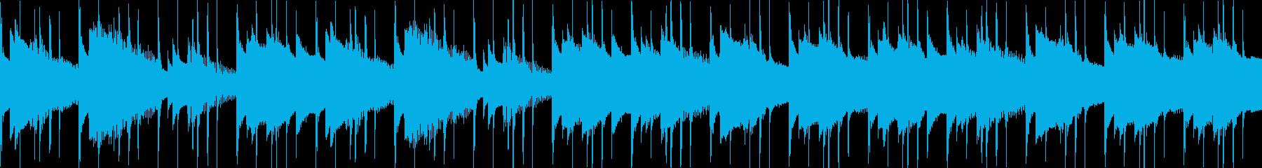 汎用BGM/穏やか(LOOP対応)の再生済みの波形