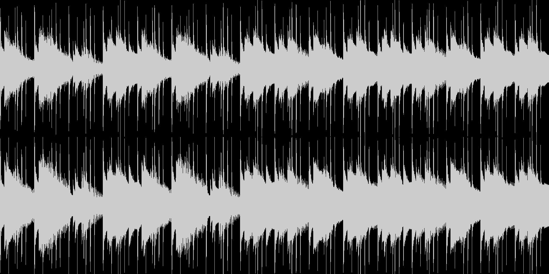 汎用BGM/穏やか(LOOP対応)の未再生の波形