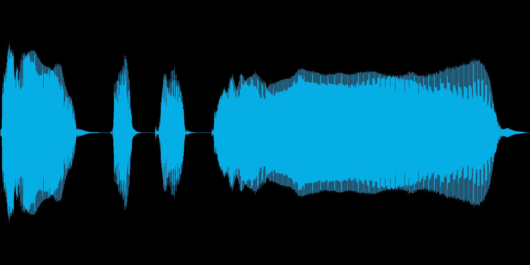 ぱんぱかぱーん!の再生済みの波形