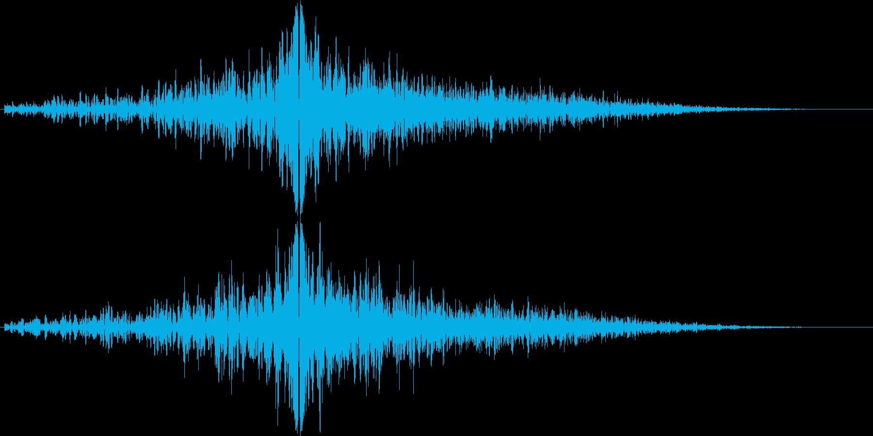グゥオン(インパクト)の再生済みの波形