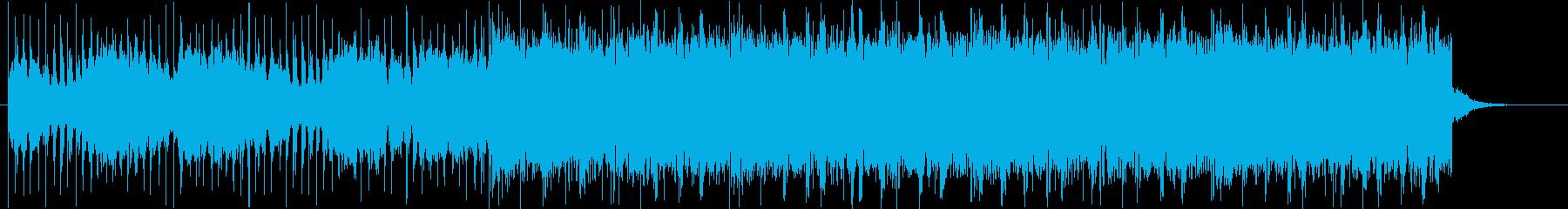 チルウェイブBGMの再生済みの波形