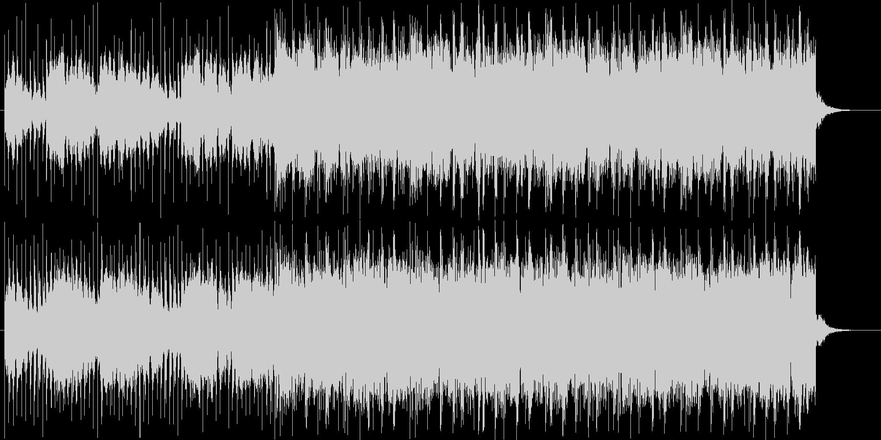 チルウェイブBGMの未再生の波形