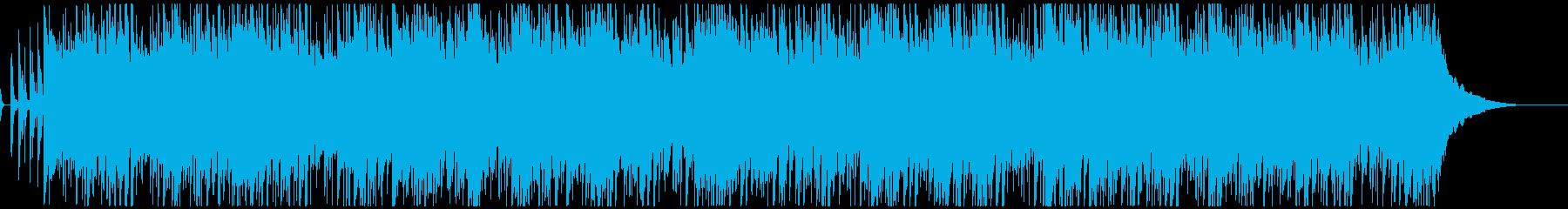 爽やかで心地よいボサノバ風ポップの再生済みの波形
