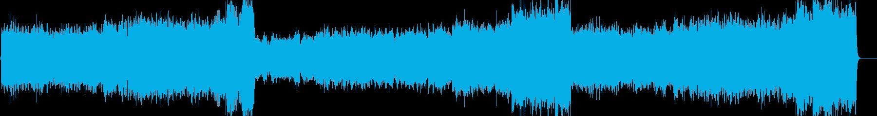 パイプオルガンを主とした感動的なBGMの再生済みの波形