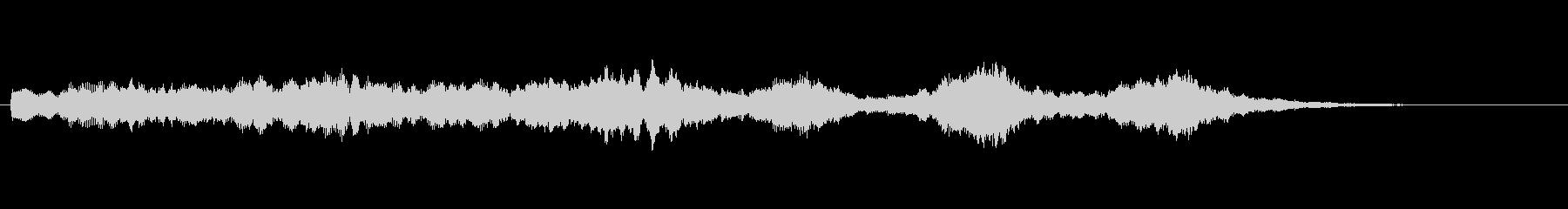オープニングベル5の未再生の波形