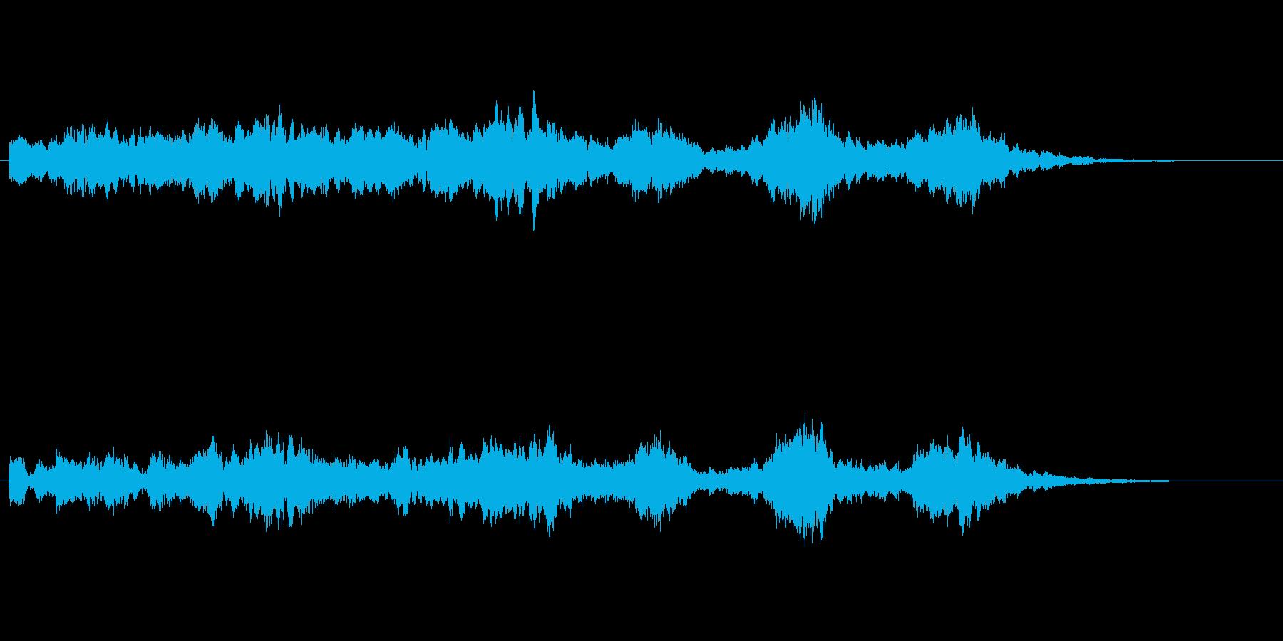 オープニングベル5の再生済みの波形