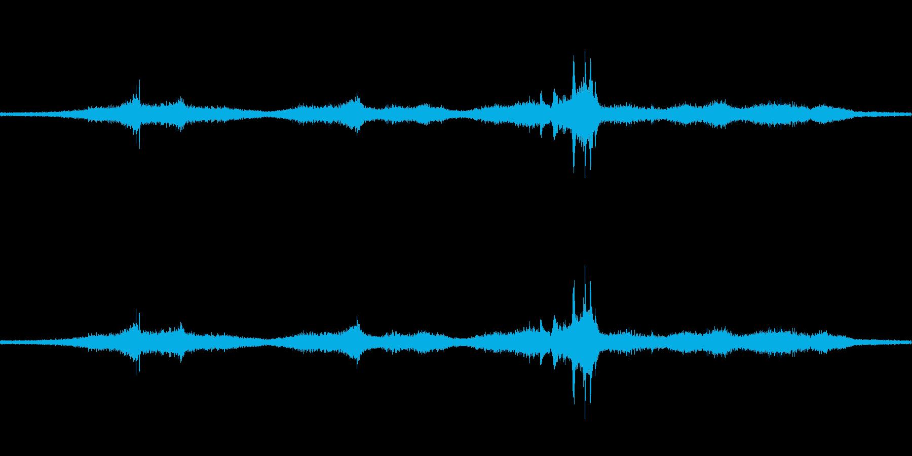 【生音】通行音 - 7 車 バイク 鉄…の再生済みの波形