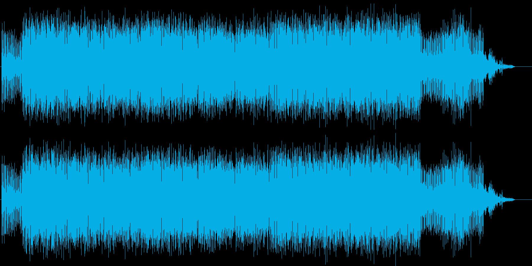 登場人物が狂っていく音楽/ホラーの再生済みの波形