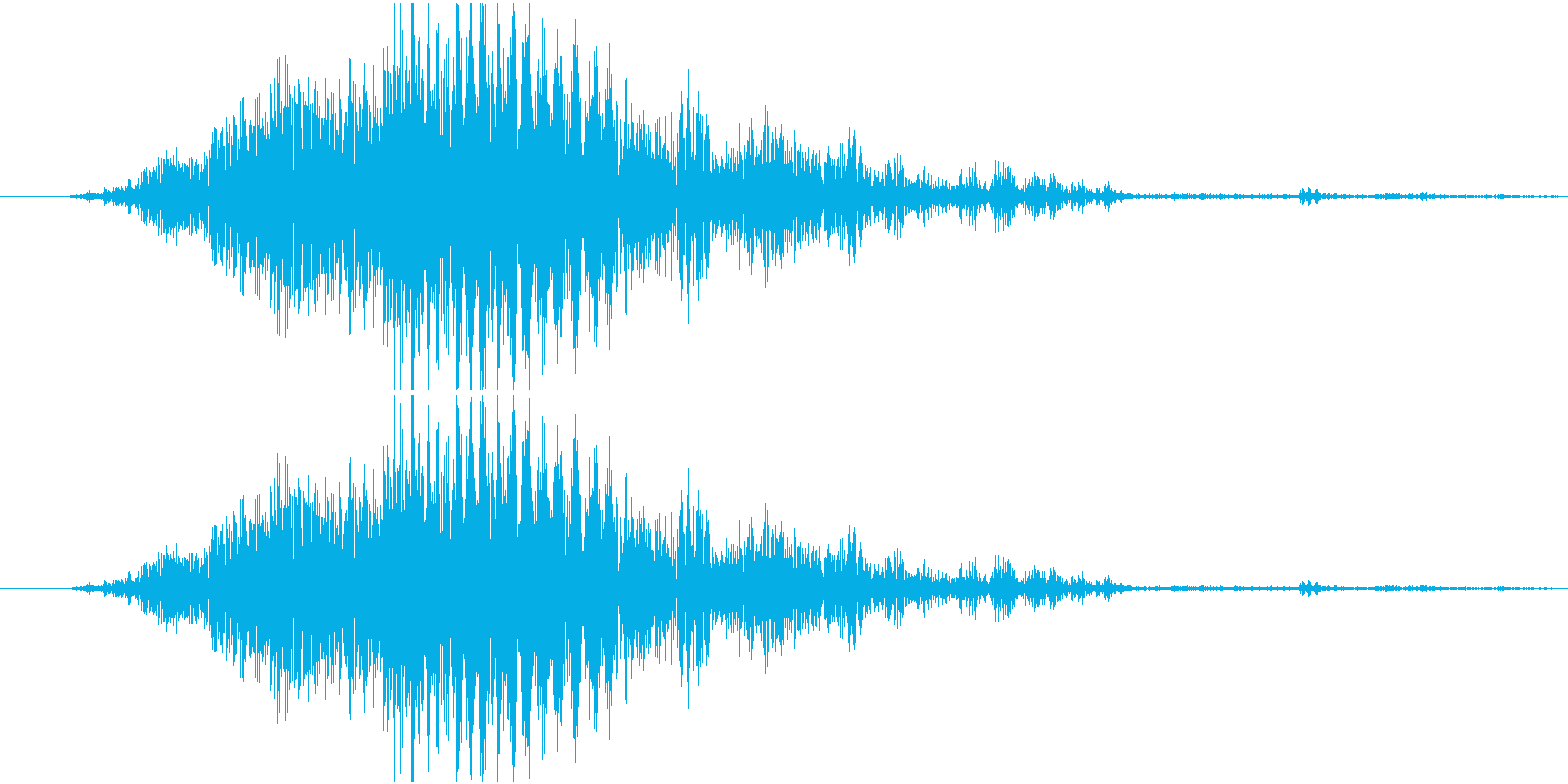 グサッ(剣がささるダメージ音、攻撃、刀)の再生済みの波形