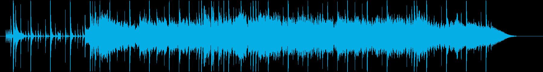 シティポップ風ジングル・サウンドロゴの再生済みの波形