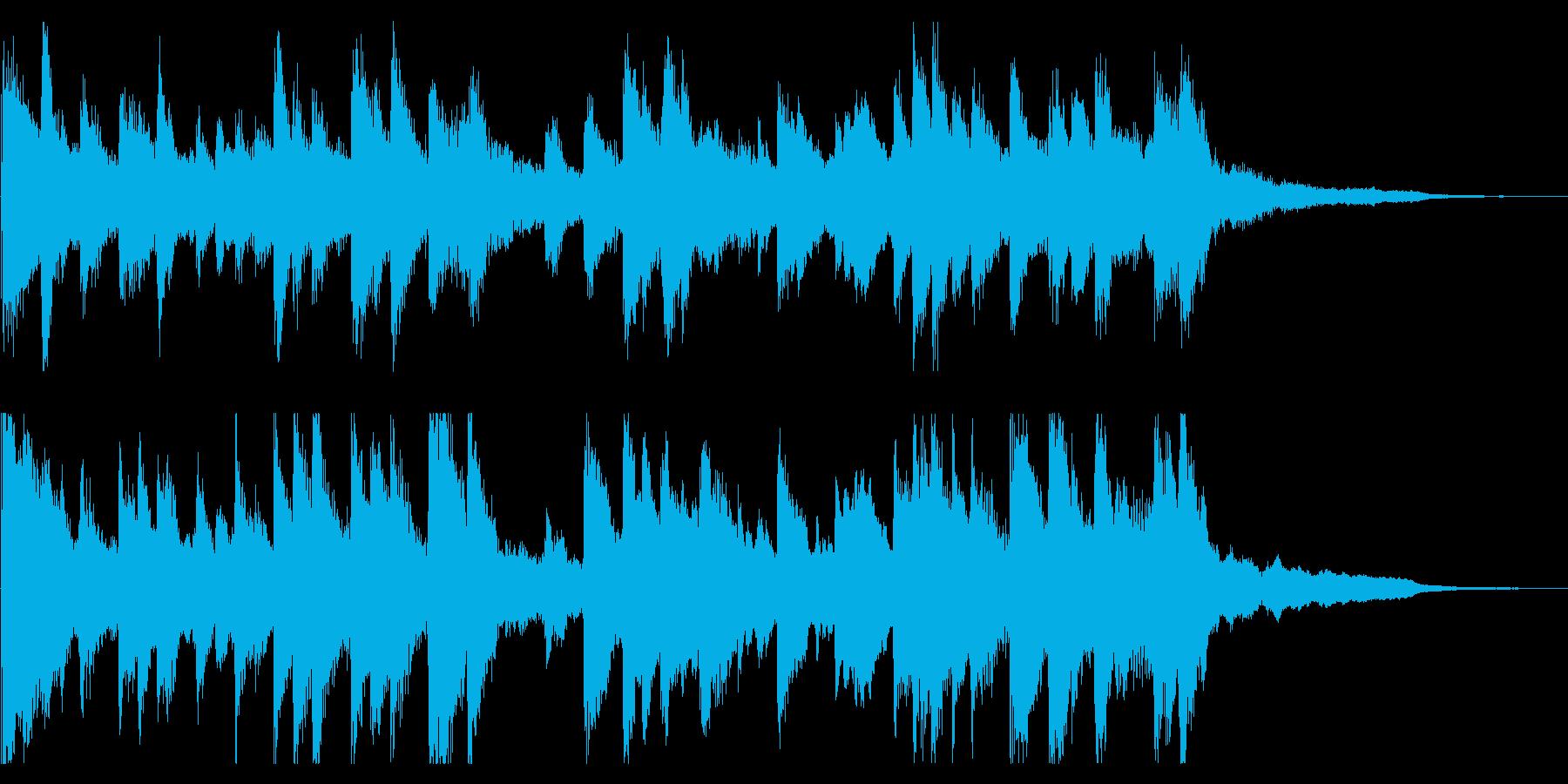 儚い雰囲気の旋律の再生済みの波形