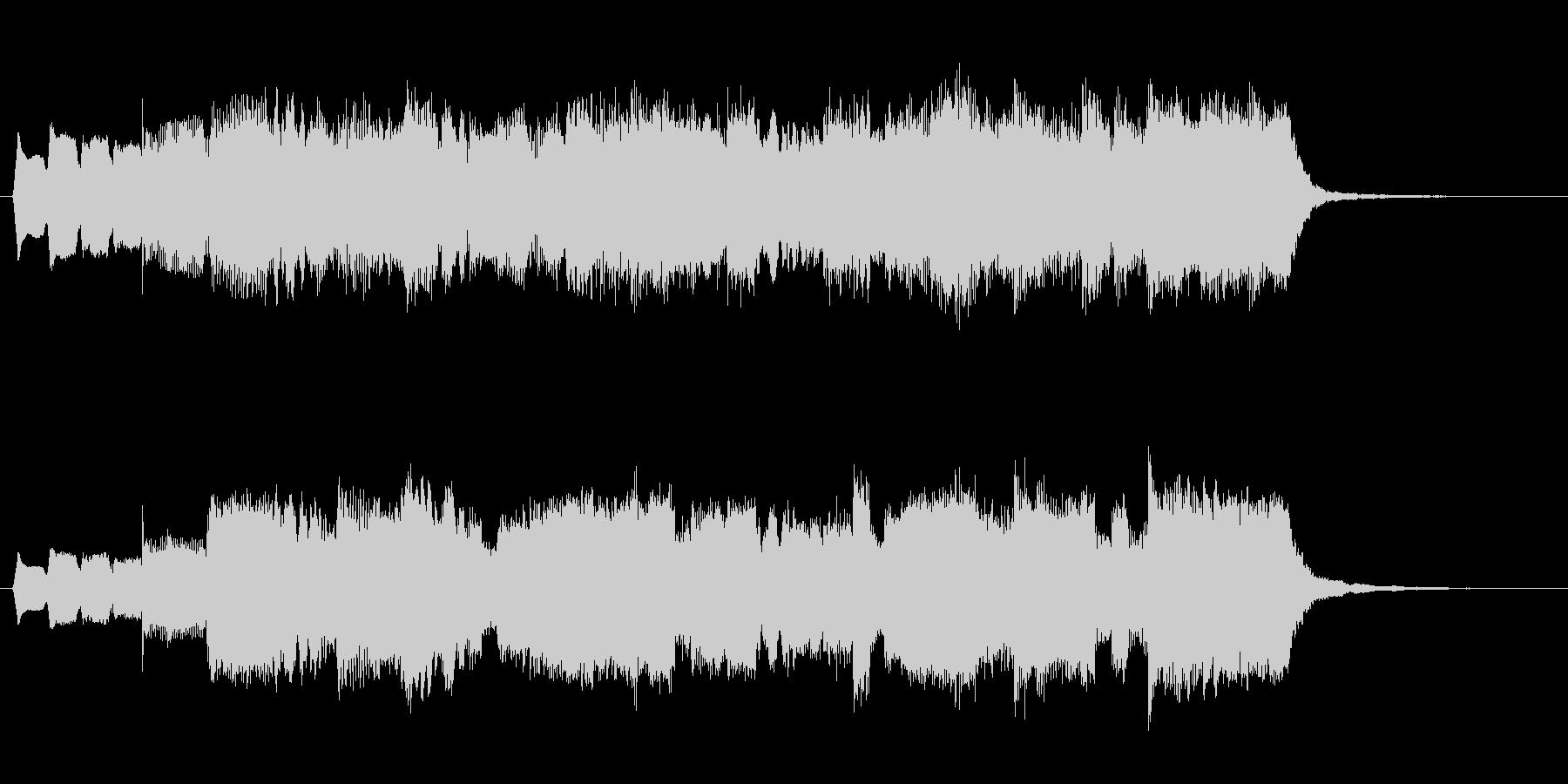 リコーダーがメロディのシンプルなジング…の未再生の波形
