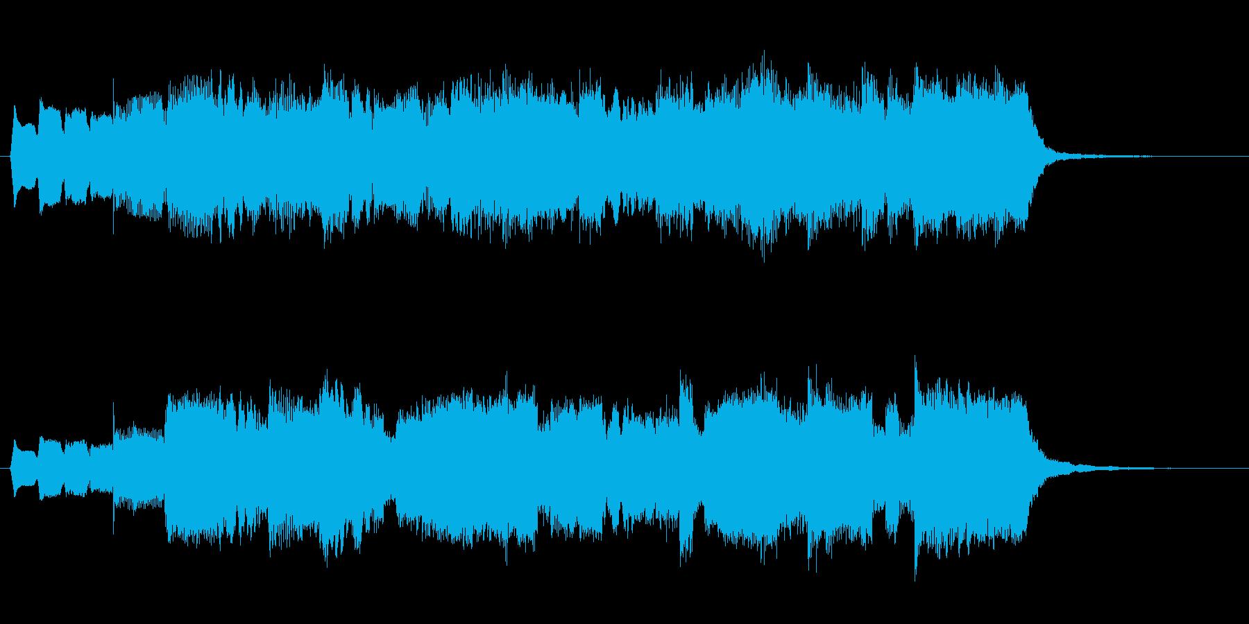 リコーダーがメロディのシンプルなジング…の再生済みの波形