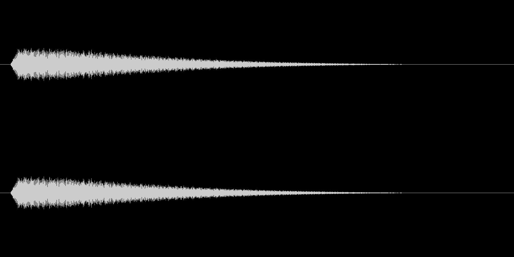 【光る03-1】の未再生の波形
