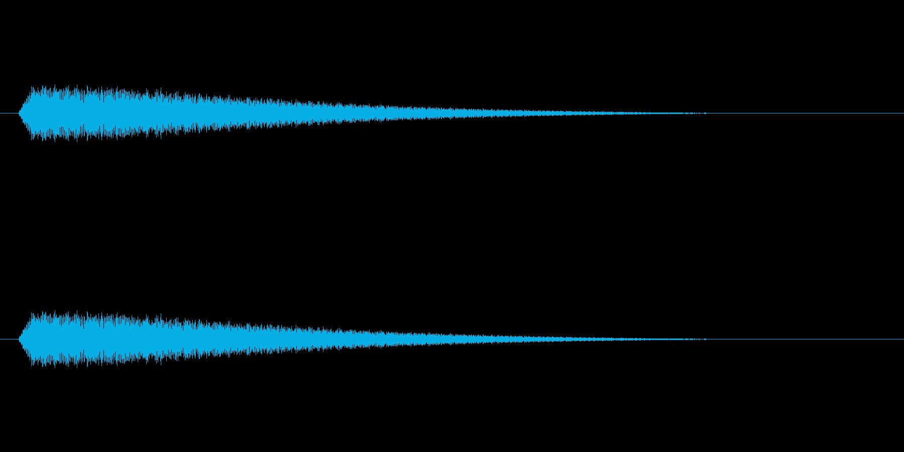 【光る03-1】の再生済みの波形