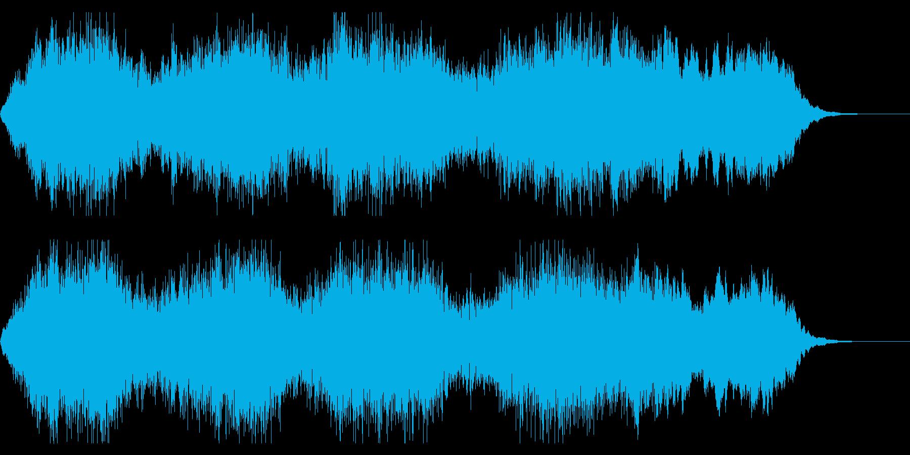 荘厳、幻想的、ファンタジックなジングルの再生済みの波形