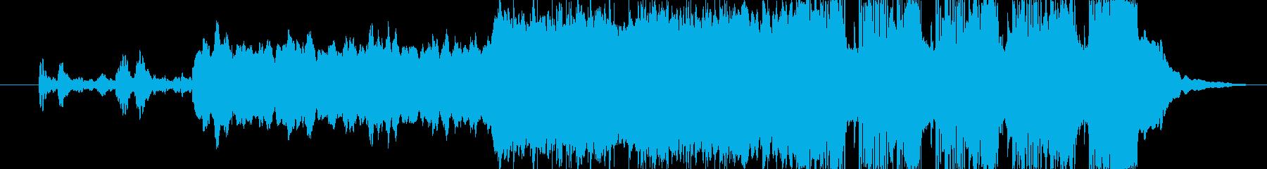 宇宙ステーションをイメージした楽曲です。の再生済みの波形