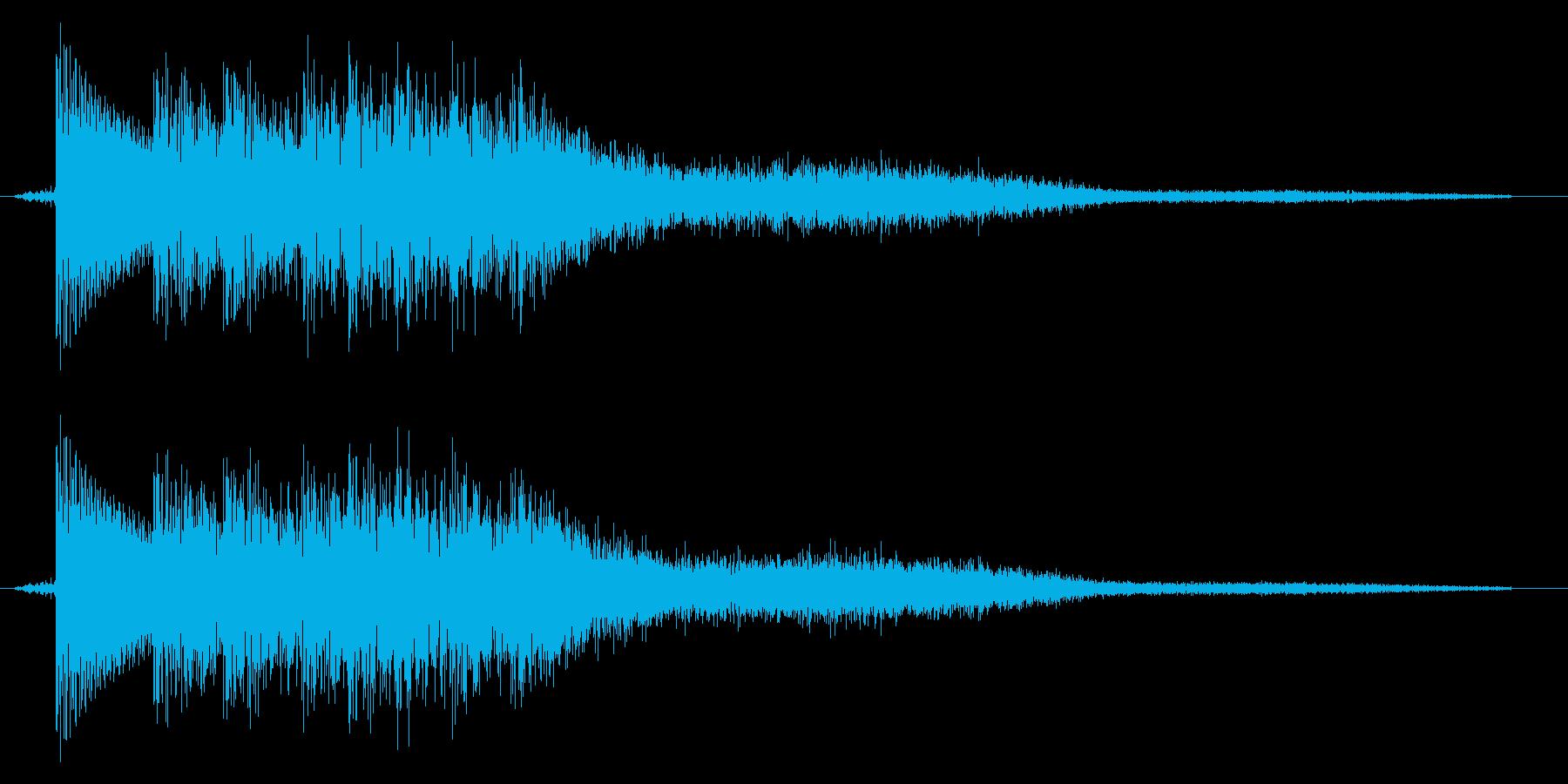 ポリンー(ゲーム、決定)の再生済みの波形