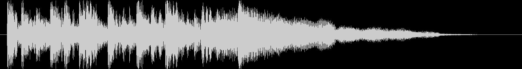 重厚な未来系デジタルエレクトロロゴの未再生の波形