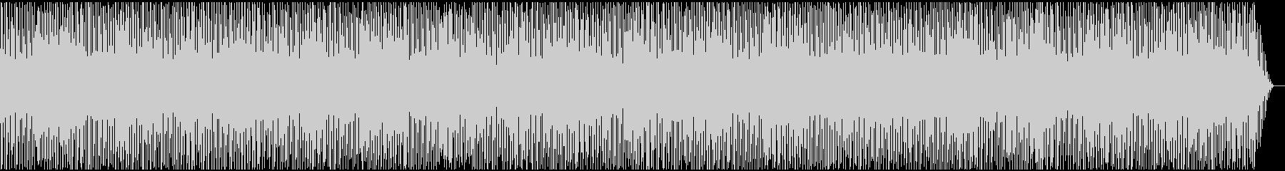 テンポのよい愉快なBGMの未再生の波形