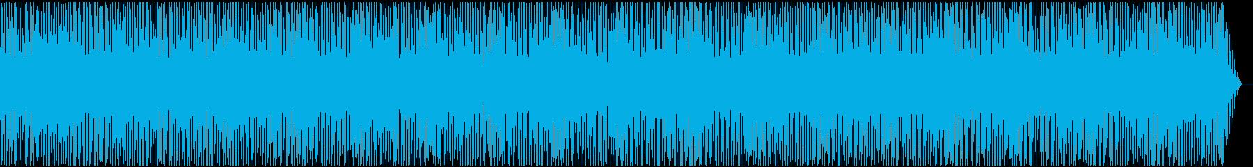 テンポのよい愉快なBGMの再生済みの波形
