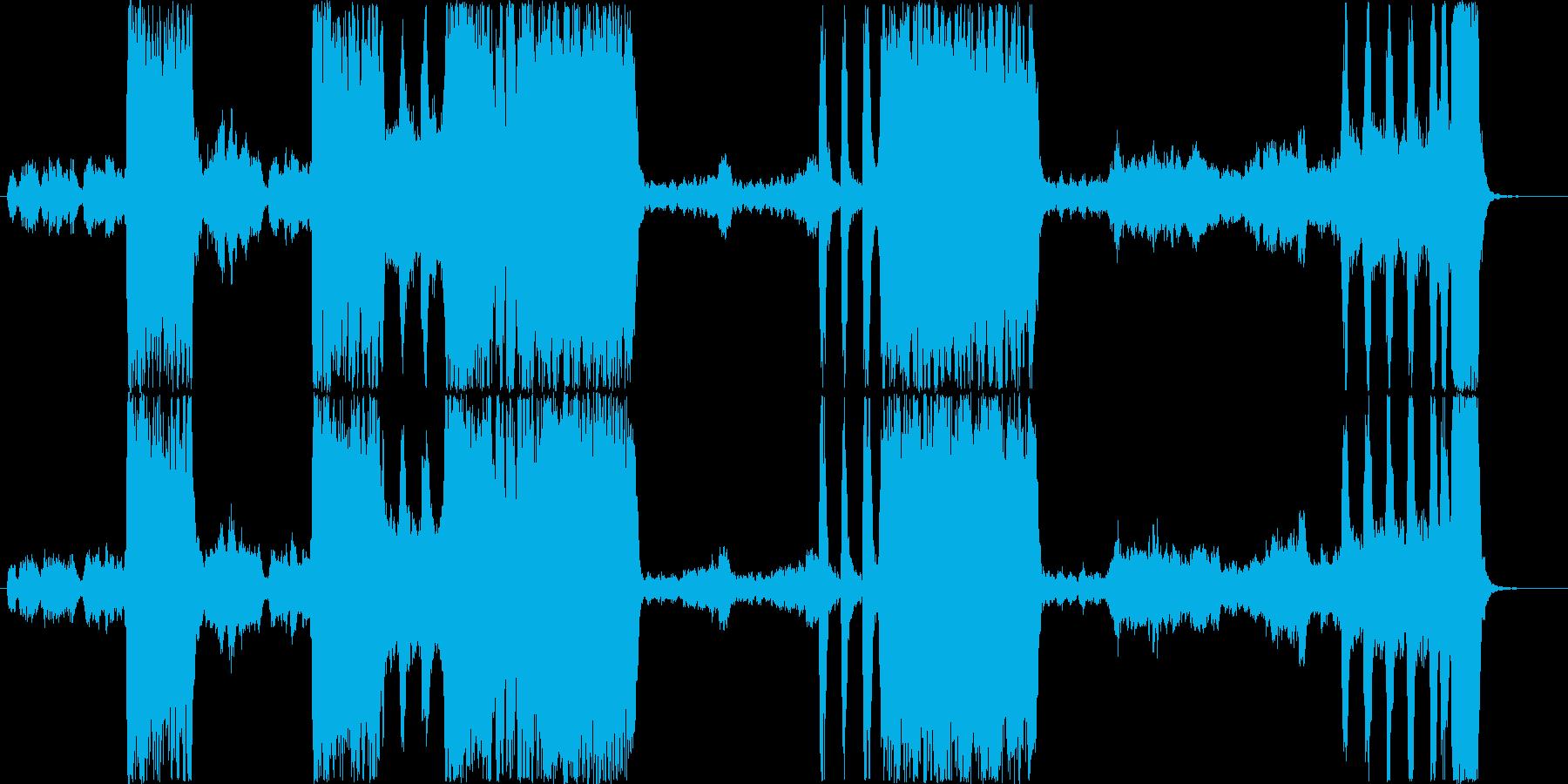 「フィガロの結婚」モーツァルトの再生済みの波形