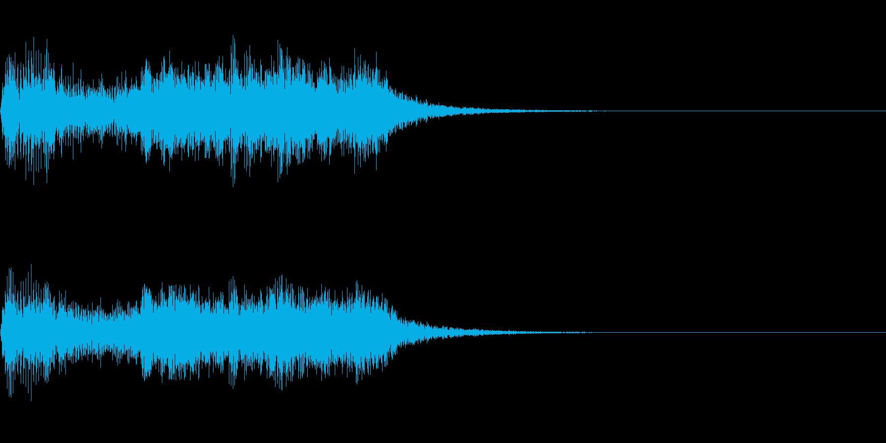 劇伴~苦しそうなギーという音~の再生済みの波形