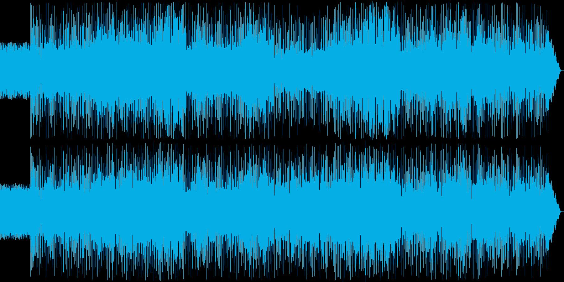 SF バトル 脱出 ドラムンベース風の再生済みの波形