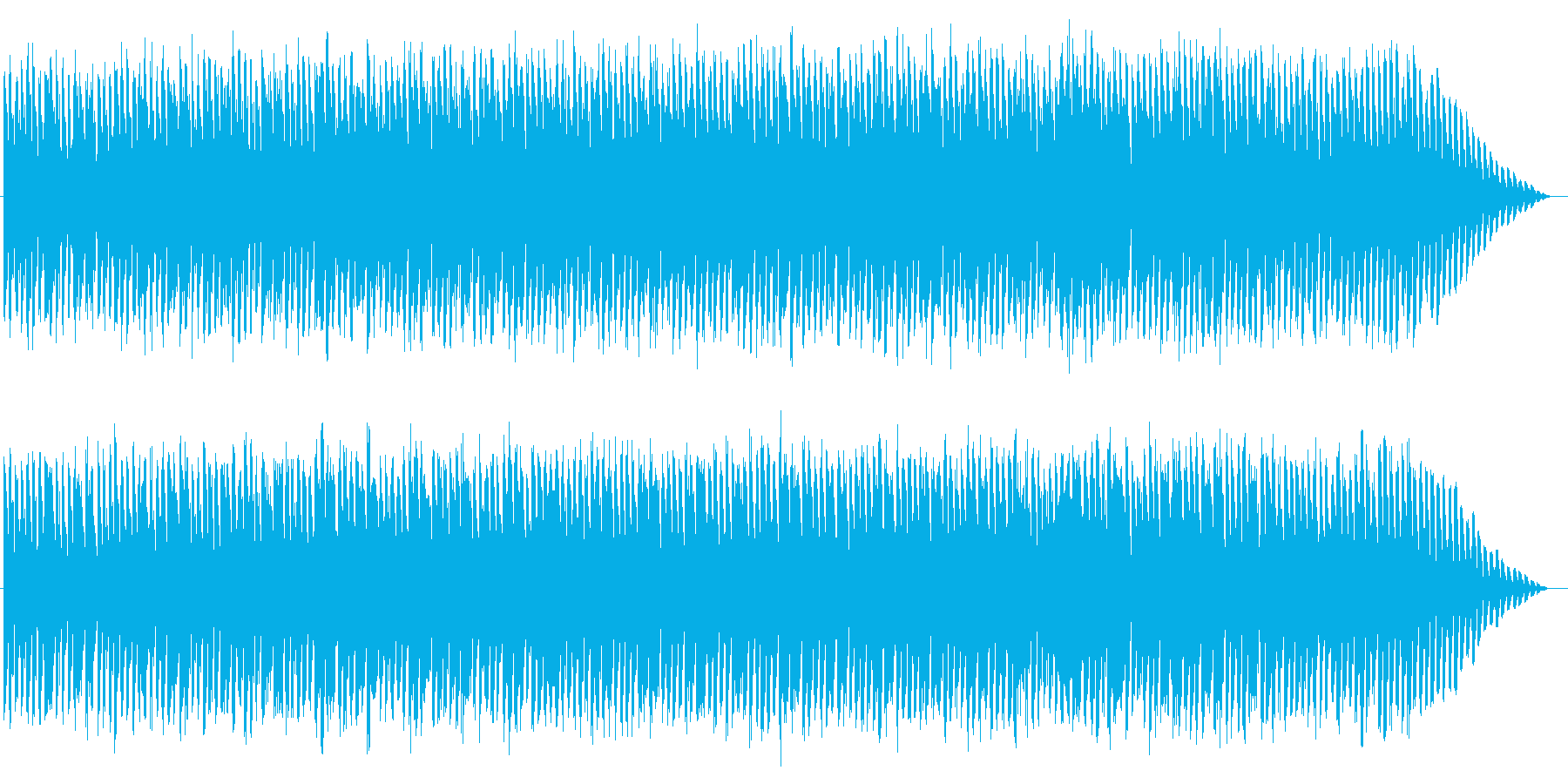 シンセベースが印象的なSFチックBGMの再生済みの波形