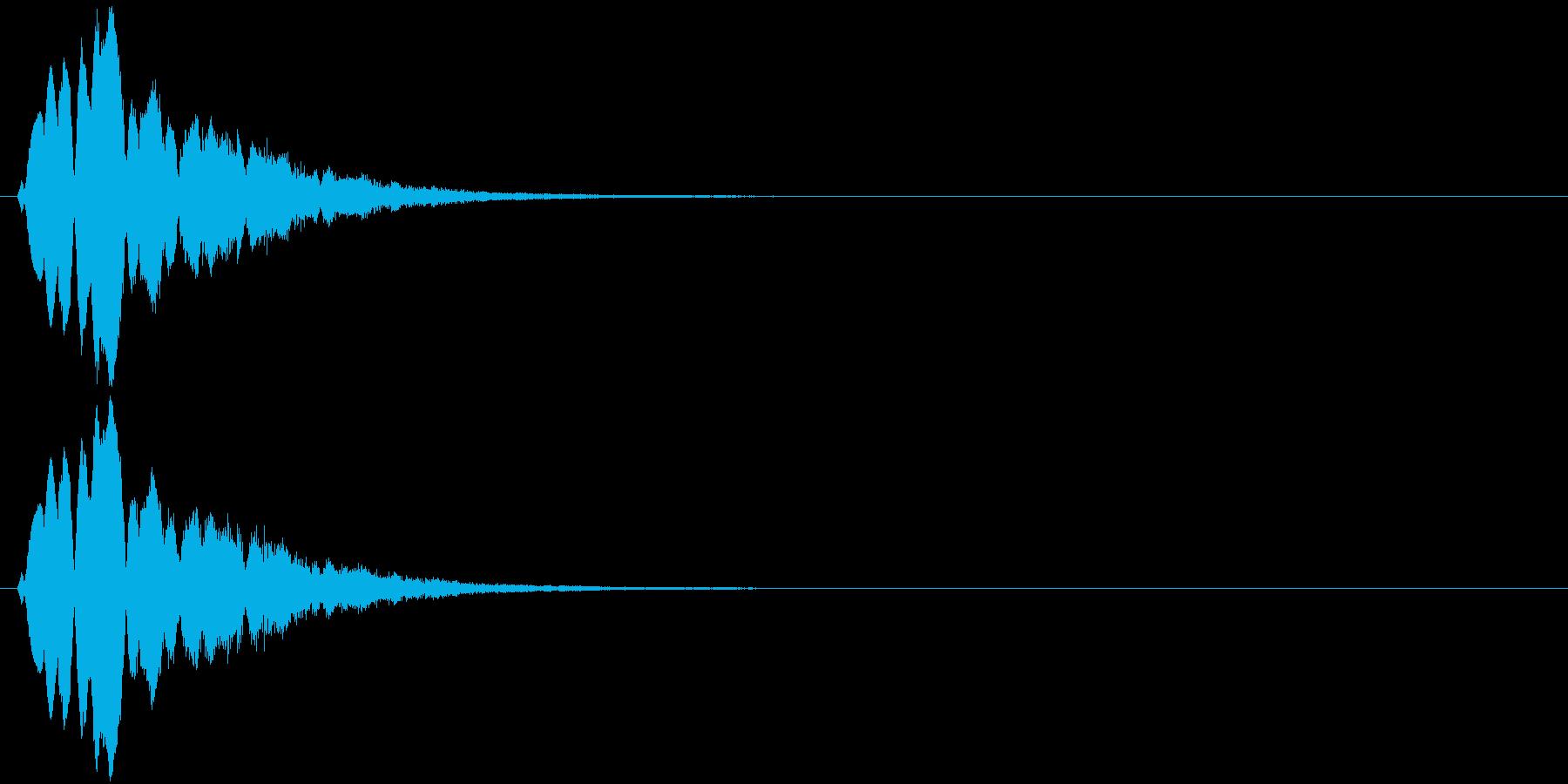 キラキラキラッ↓(流れ星)の再生済みの波形