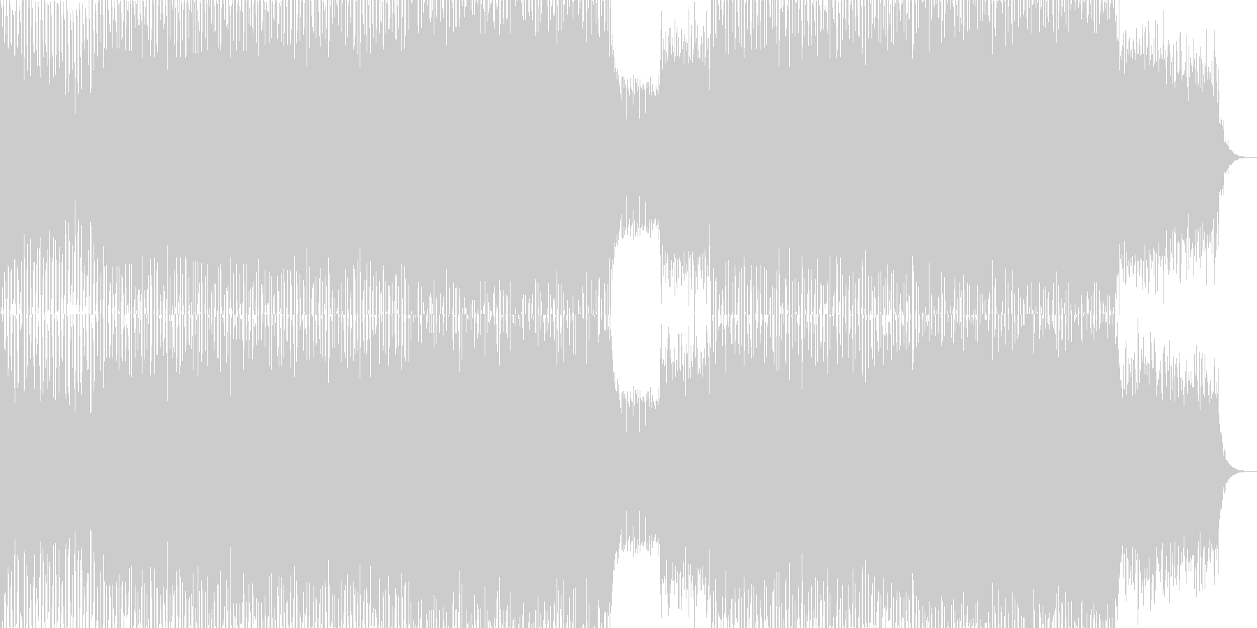 EDMクラブ系ダンスミュージック-58の未再生の波形