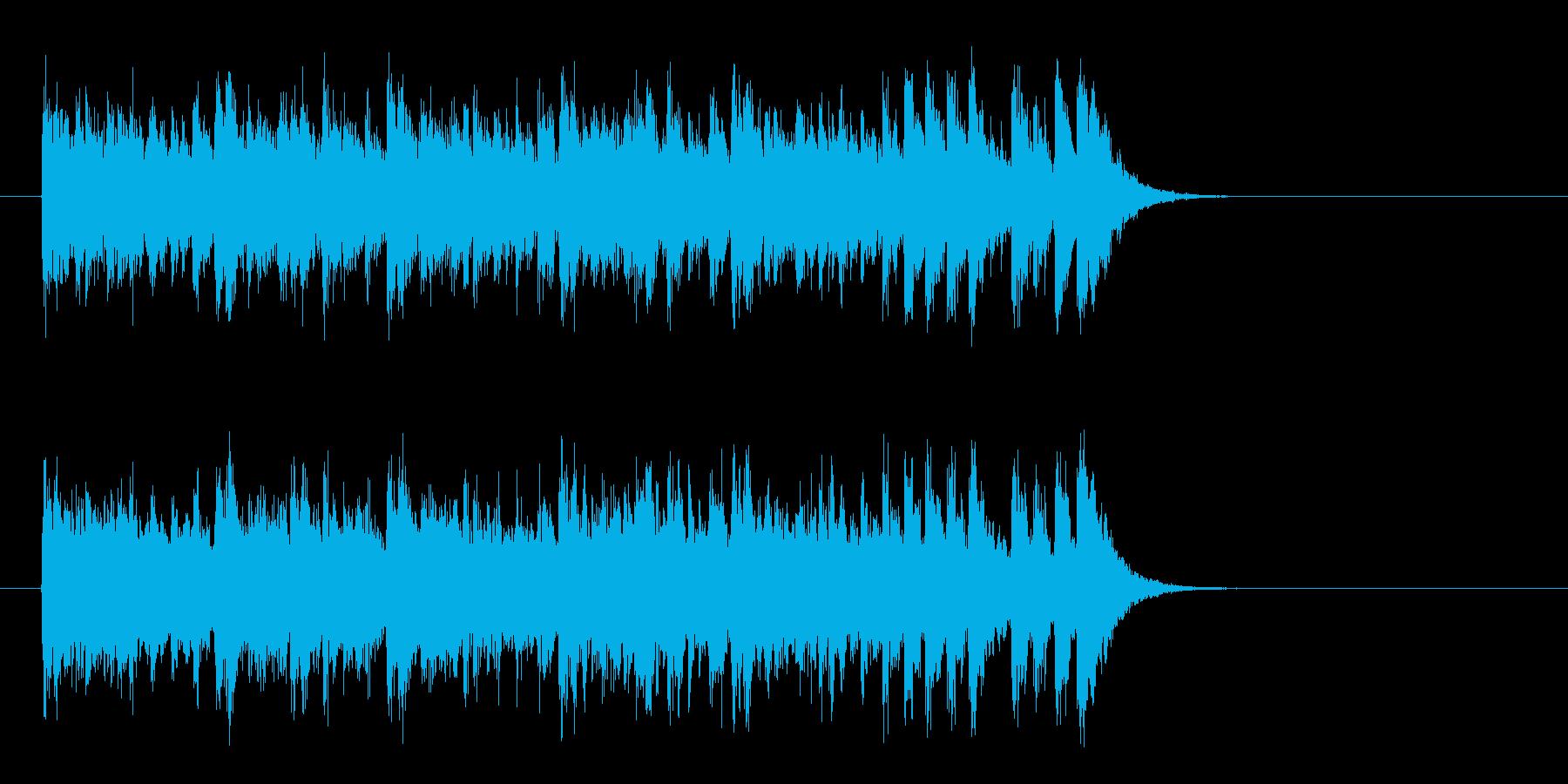 リゾート風ラテンポップス(イントロ)の再生済みの波形