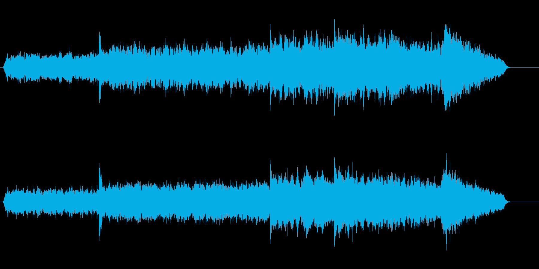 スパイスが染みわたるレイジーな環境音楽の再生済みの波形