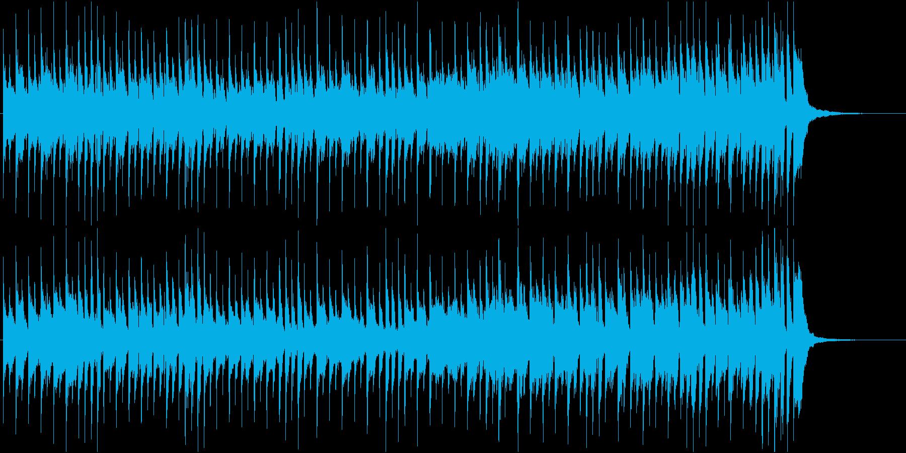 カウボーイドリームの再生済みの波形