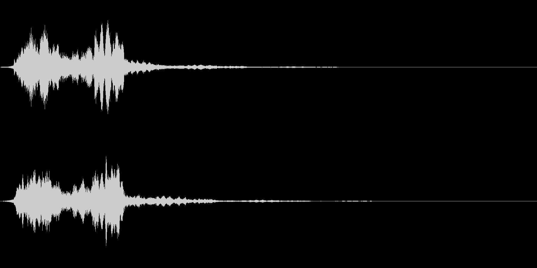 サウンドロゴ08の未再生の波形