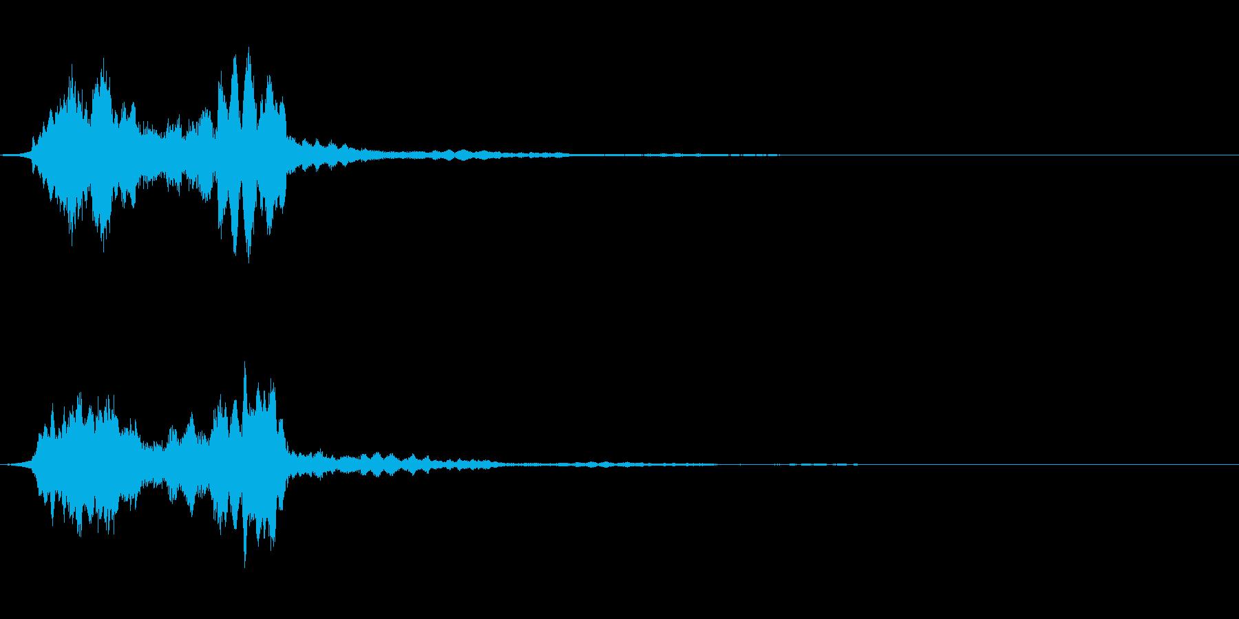 サウンドロゴ08の再生済みの波形