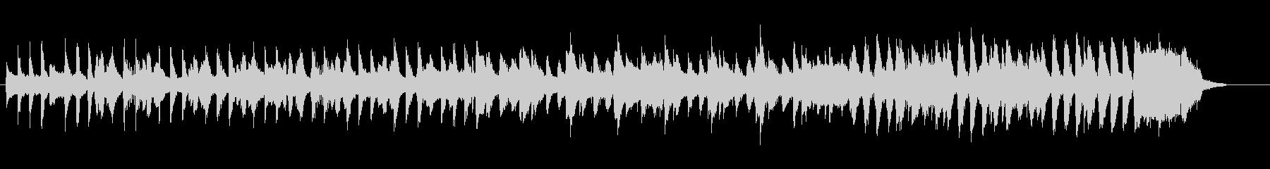 ほっこり かわいい ほのぼの 口笛BGMの未再生の波形