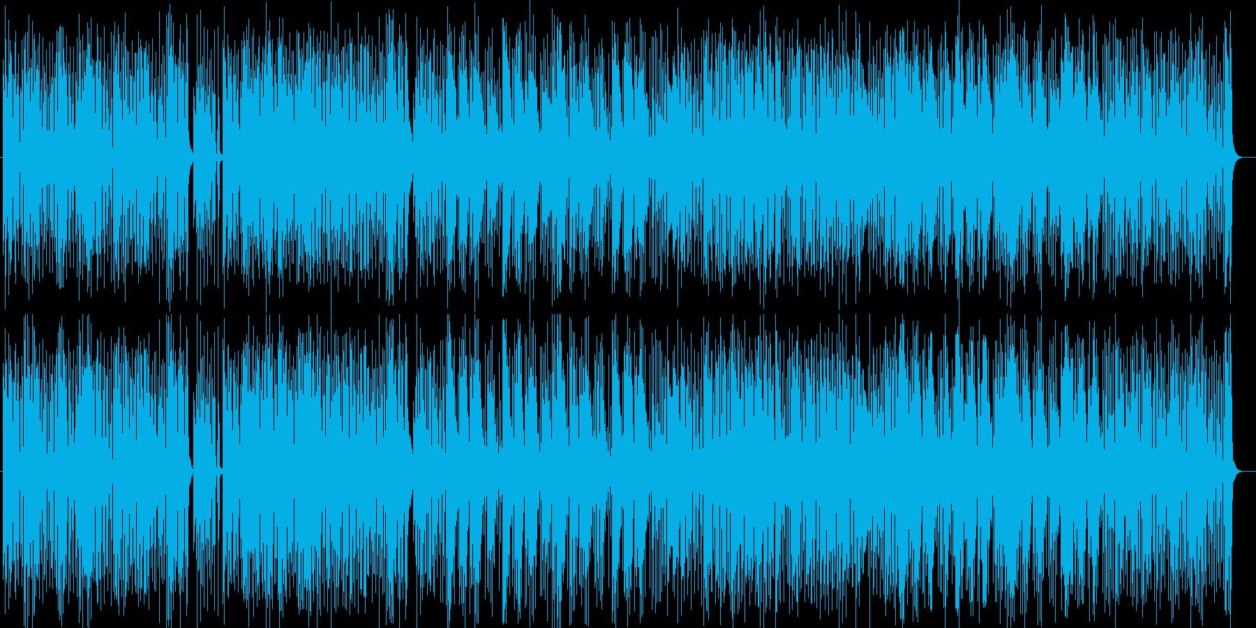 リゾート感あふれるギターサウンドの再生済みの波形