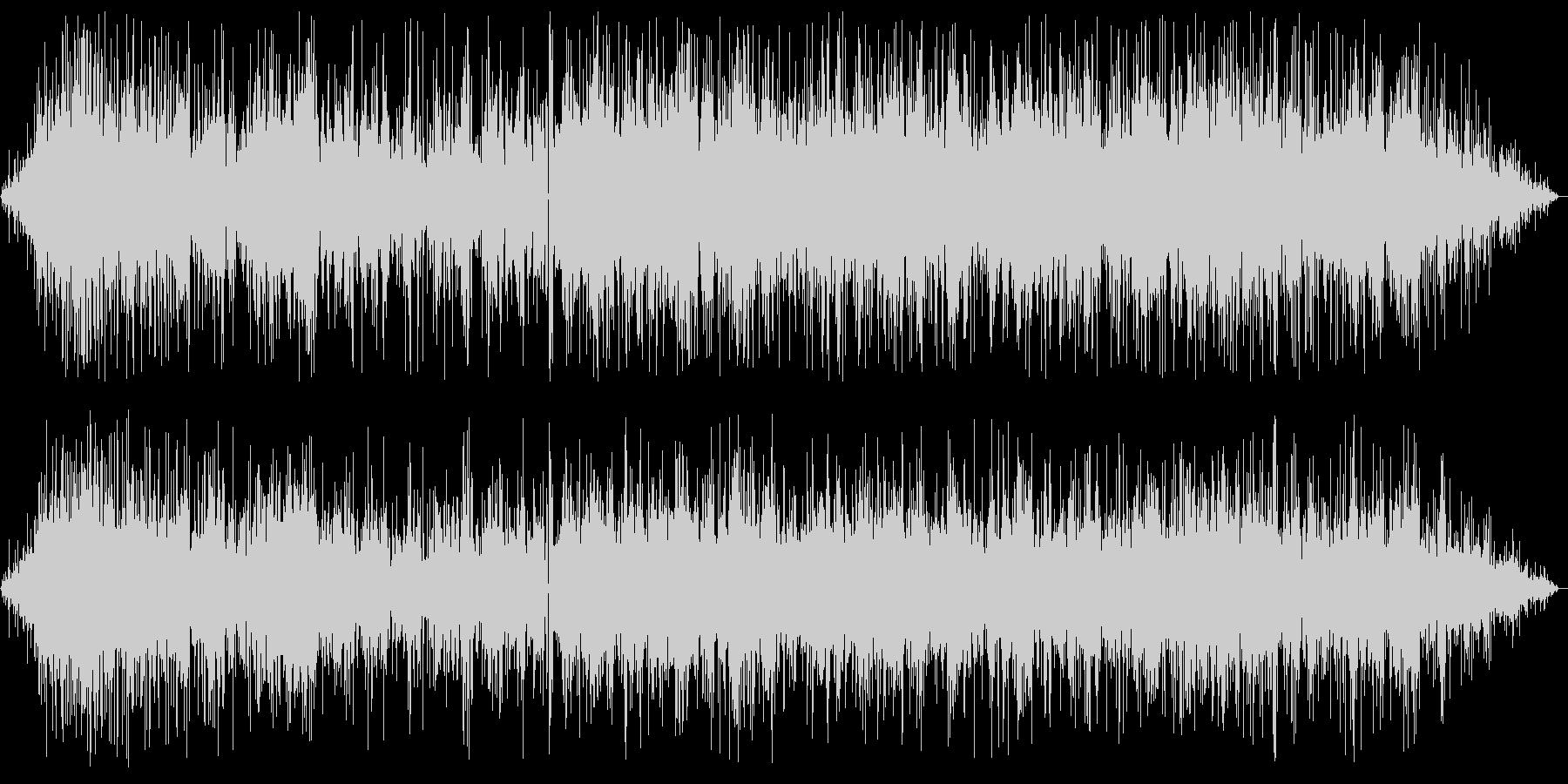 パチパチジュワー(揚げ物音)の未再生の波形