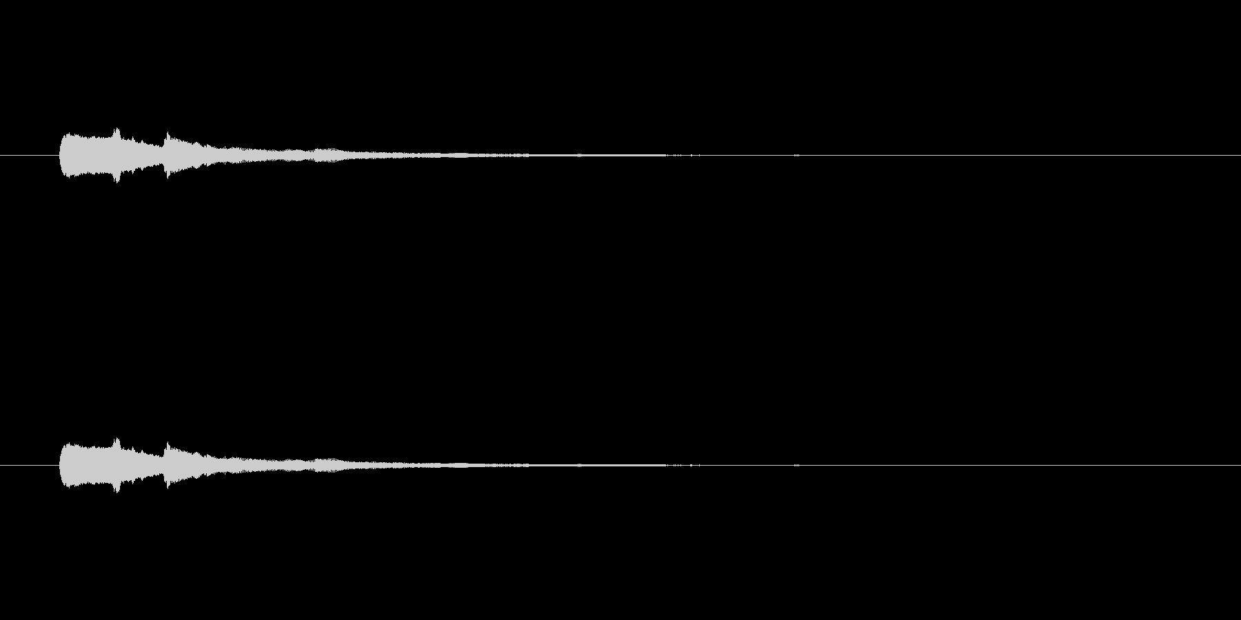 【キラリン】ハープシコード華麗なキラキラの未再生の波形