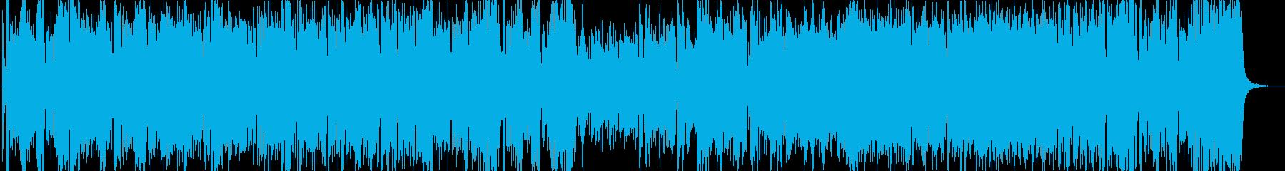勢いのあるエキサイティングなビッグバンドの再生済みの波形
