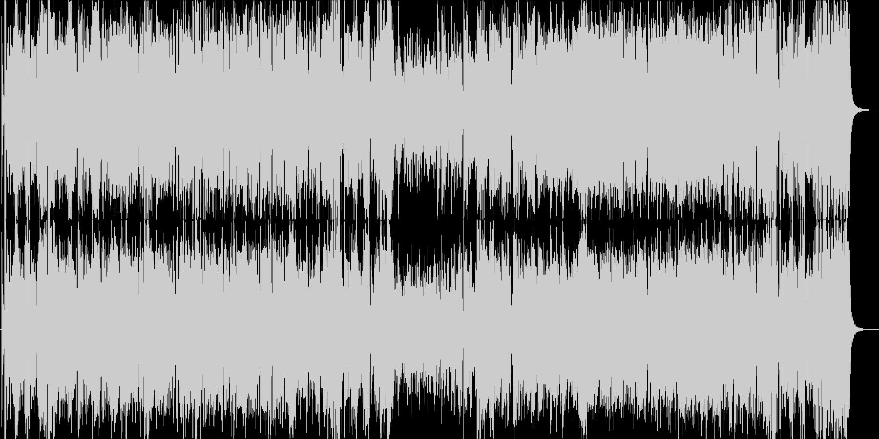 勢いのあるエキサイティングなビッグバンドの未再生の波形