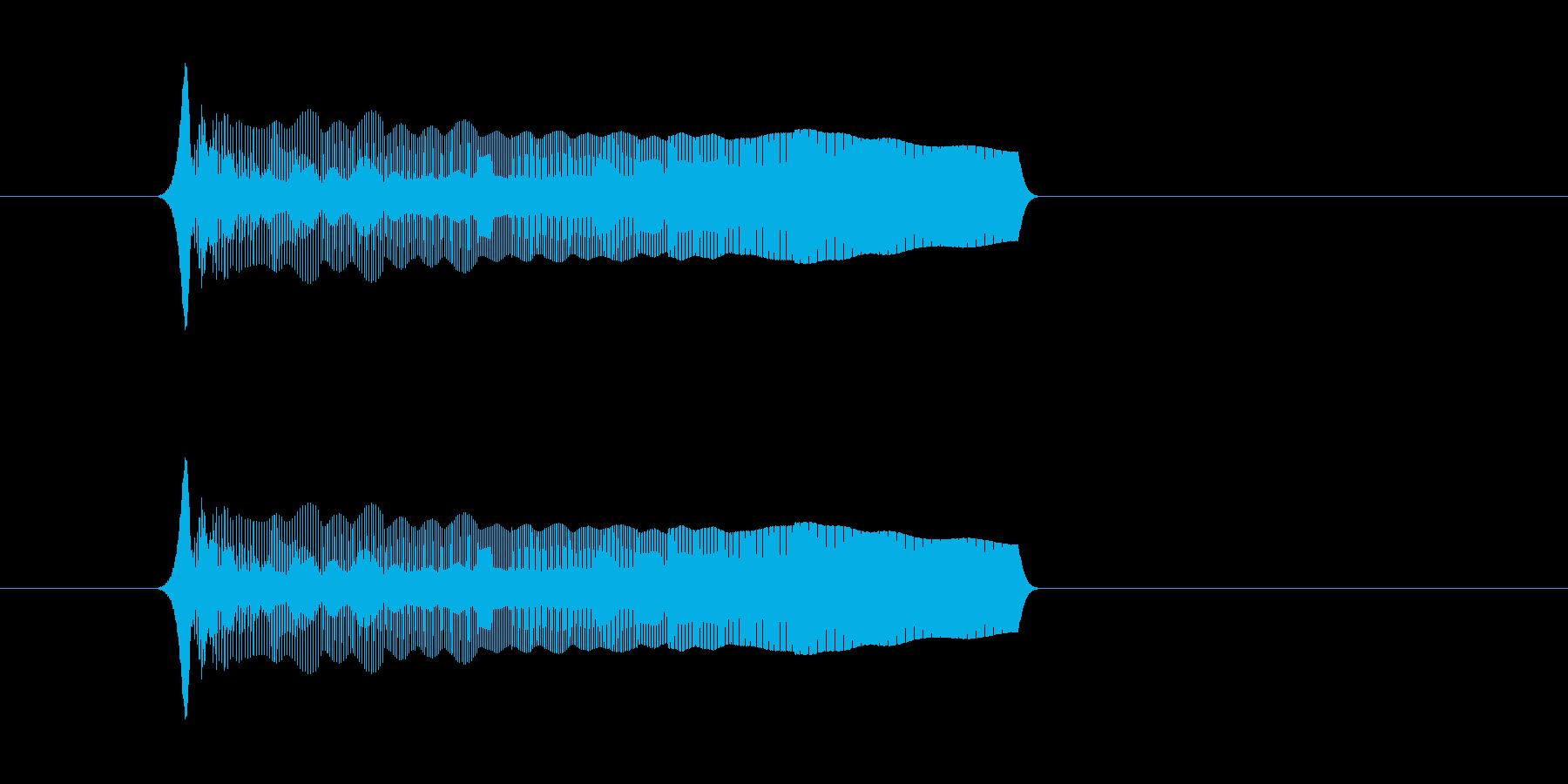 上昇効果音 コミカルな音 お笑い 演出の再生済みの波形
