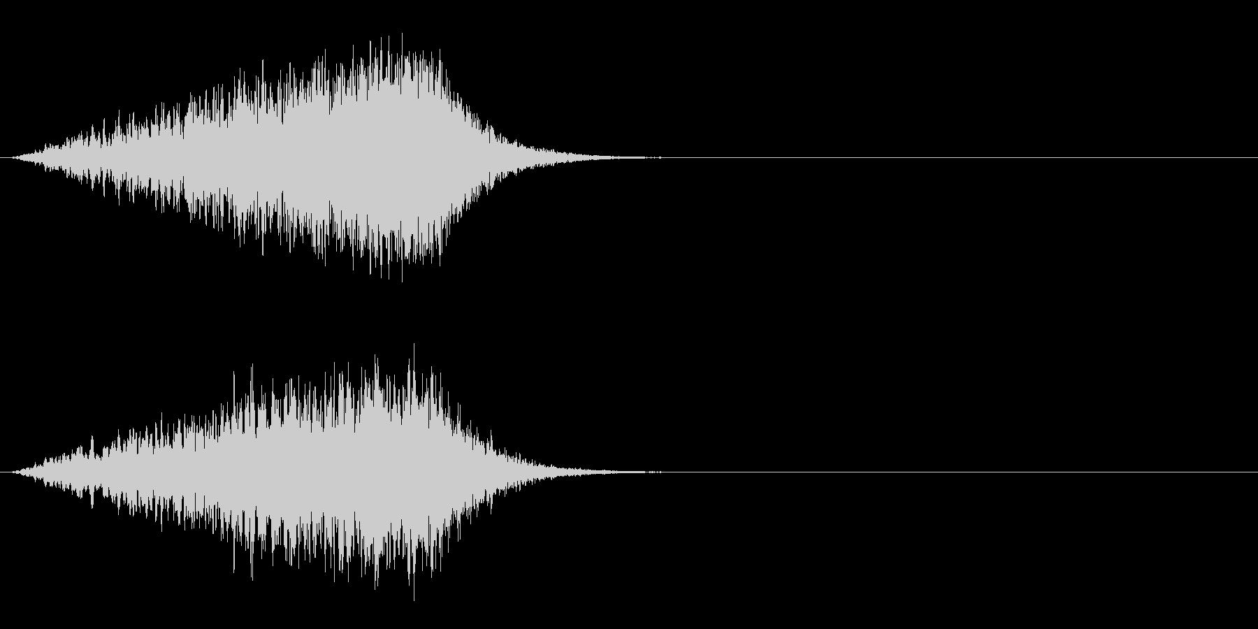 SEジングルの未再生の波形